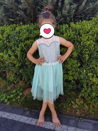110/116cm sukienka księżniczka