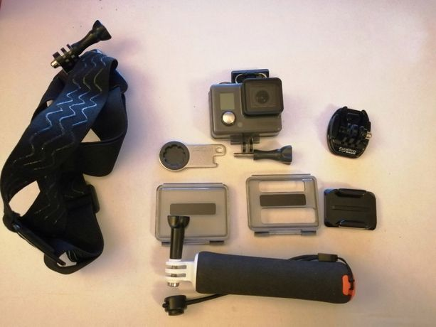 Kamera sportowa Go Pro Hero + akcesoria
