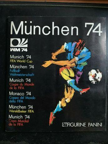 Caderneta Munchen 74 - PANINI