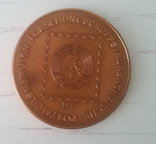 Medal NRD 250 lat Kursachsische Postmellenstaulen