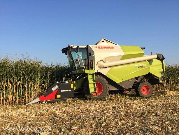 Zbior kukurydzy , przystawka z docinaczem
