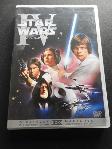 Star Wars IV Nowa nadzieja THX Mastered film DVD