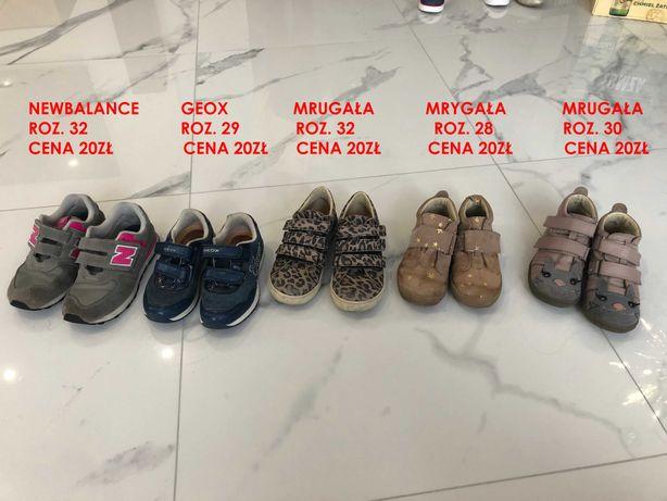 buty dziecięce Geox NewBalance Mrugała Bartek
