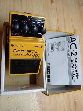 BOSS AC-2 symulator gitar akustycznych