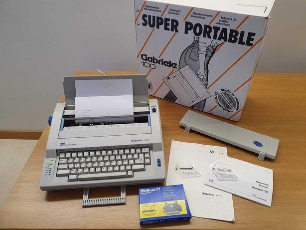 Máquina de escrever electrónica Triumph-Adler Gabriele 100