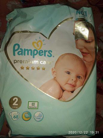 Подгузники Pampers premium care 2 (4-8 кг)