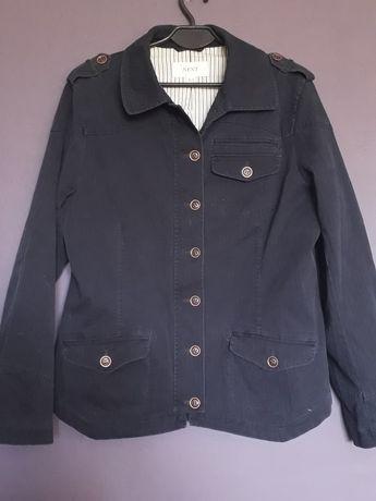 NEXT żakiet kurtka jeans granatowa 44 46