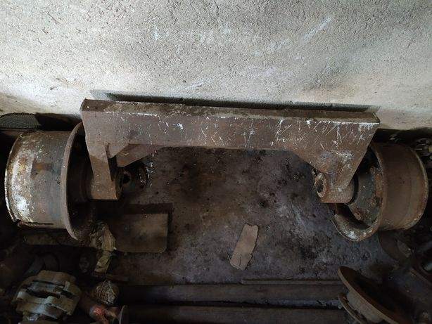 Ступица газ 53 мост на самодельный трактор