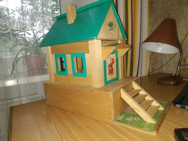 """Детский деревянный конструктор """"Деревянный дом"""""""