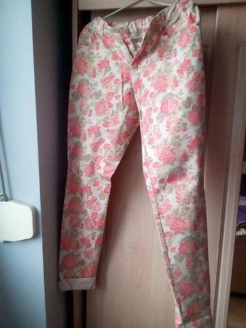 Spodnie dziewczęce kwiaty MAYORAL 162