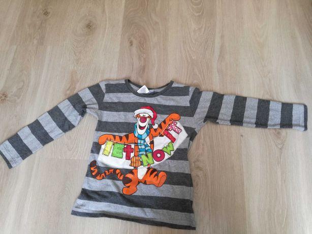 Bluzka na długi rękaw dla chłopca, rozmiar 110
