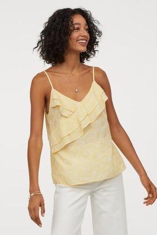 Нова блуза топ майка h&m розмір 38 (м)