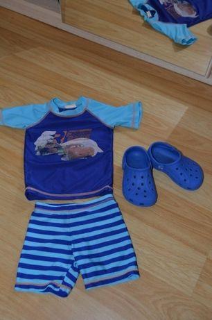 Пляжный костюм + Crocs C6-C7