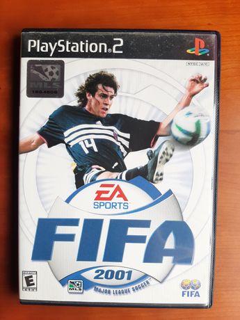 FIFA 2001 playstation 2  versão NTSC 