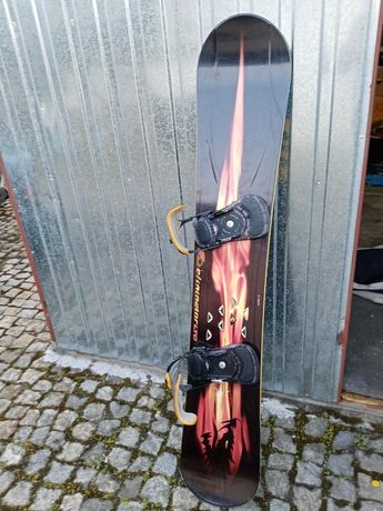 Deska snowboardowa eliminator f2 wiązania +buty
