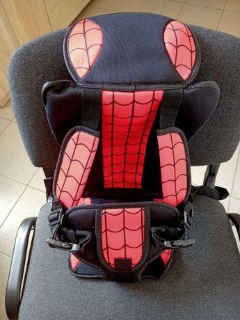 Автокресло для детей с креплениями макс 36кг (1год-12лет) красное