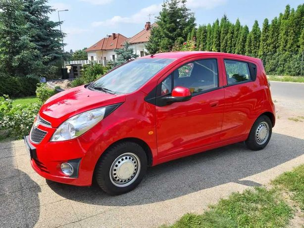 Miejskie Auto Chevrolet Spark 2011 PL, klima, benzyna