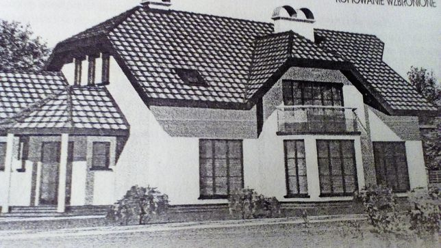 Dom w w stanie surowym w bardzo dobrej lokalizacji