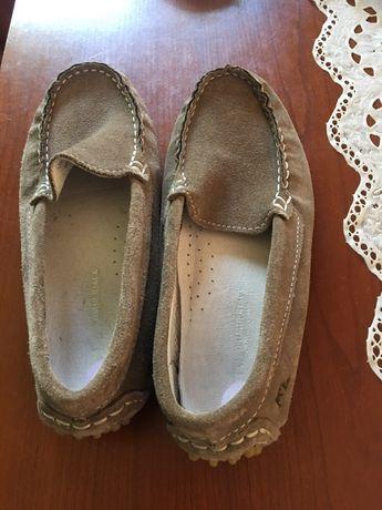 Mokasyny buty pantofle kapcie skóra rozmiar 32