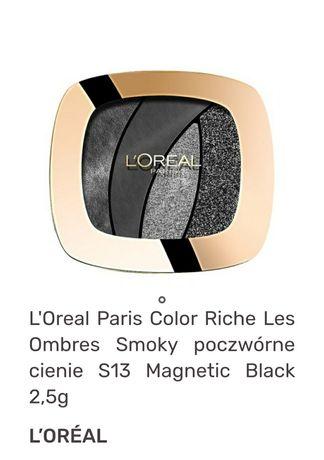 Cienie Loreal magnetic black