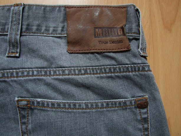 Mustang CHICAGO TAPERED Spodnie Jeansowe szare
