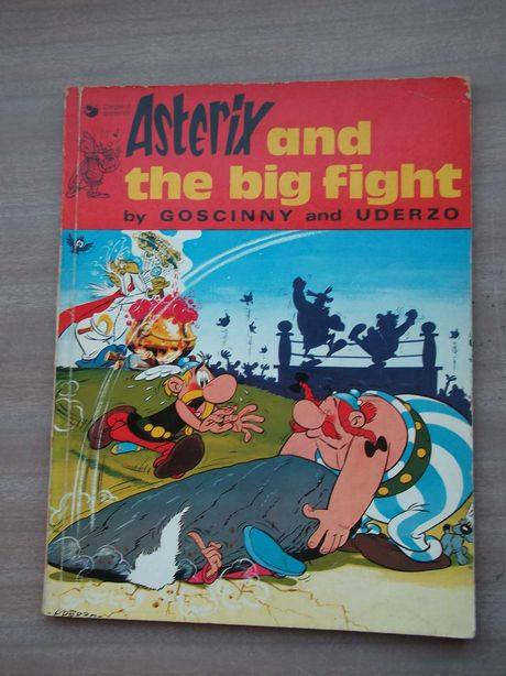 ASTERIX and the big fight 1974 (England)