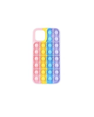 Capa Iphone 12 varios modelos Multicolor Bolhas