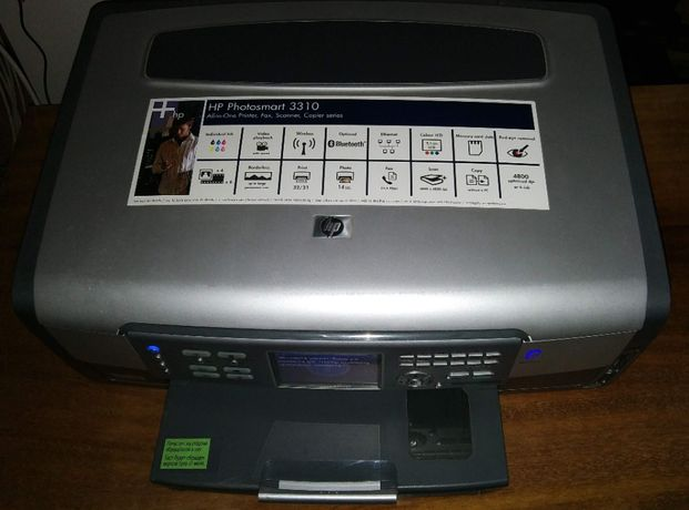 МФУ HP Photosmart 3310 (требует замену картриджей)