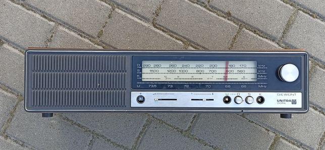 Stare Radio UNITRA Giewont