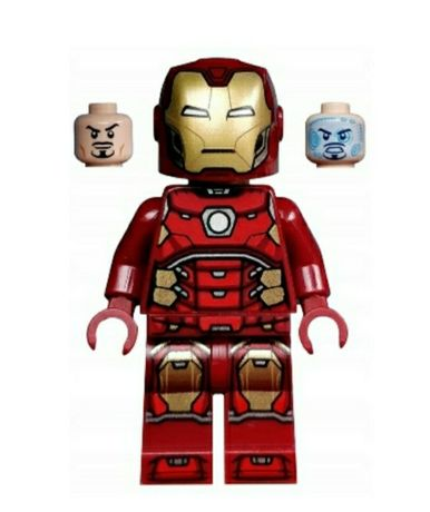 Lego Marvel SH612 Iron Man + akcesoria Nowy! Ideał! Nie zbudowany!