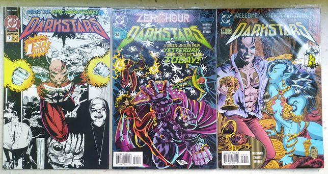 Darkstars komiksy 5 zeszyty [DC Comics]