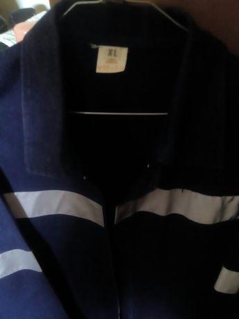 Jaqueta com faixa refletiva tamanho XL - Liquidação