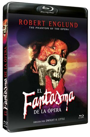 El Fantasma De La Opera/O Fantasma da Ópera(Blu-Ray)-Importado