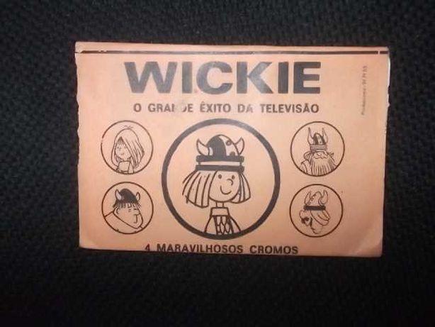 CARTEIRA/Saqueta Cromos WICKIE ( Aberta c/Cromos) Disvenda