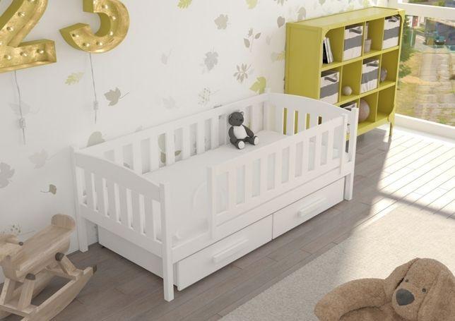 Łóżko dla dziecka BETI. Bezpieczne. Drewniane. Wysyłka 7 dni!
