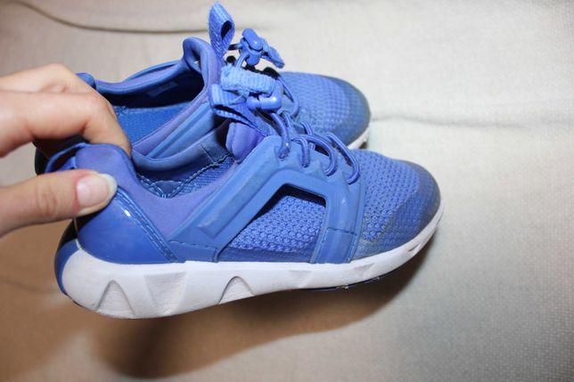Кроссовки кеды синие Clarks 27-28 размер