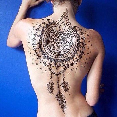 Роспись Хной, рисунки хной, мехенди, временные татуировки