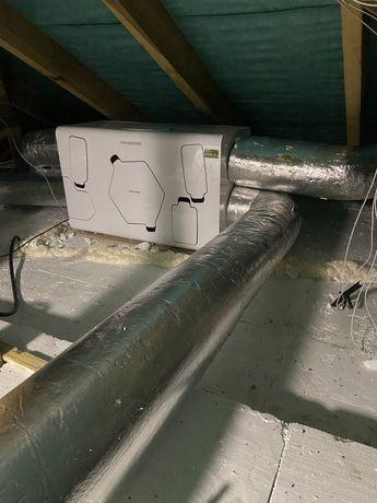 Rekuperacja wentylacja montaż