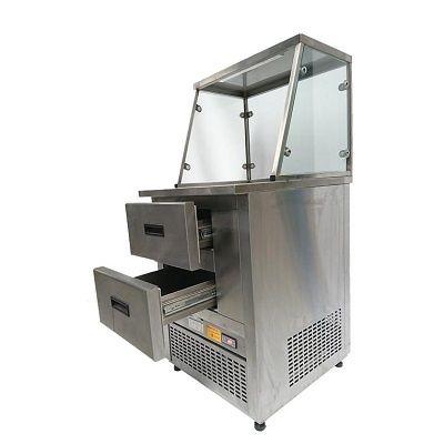Witryna Hot-dog z szufladami 65 cm Mawi SSZ 0.6 lada moduł