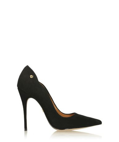 Buty - czarne czółenka KAZAR