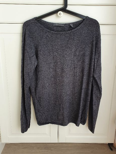 Esprit ciemno szary sweter 40 L