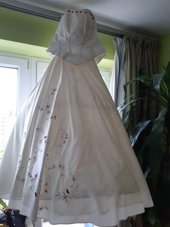 Suknia ślubna gorset plus spódnica