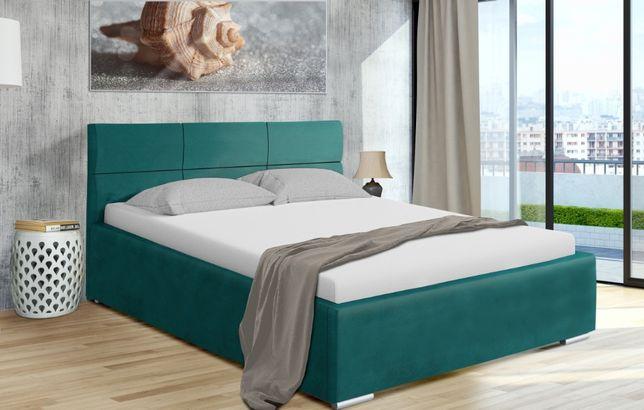 Łóżko tapicerowane Malta stelaż+pojemnik Gratis szybka wysyłka 160x200