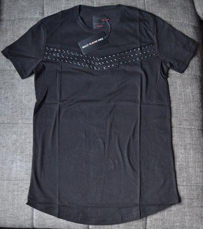 Nowy modny t-shirt (XXL) - BREEZY TO BLACK VIBES
