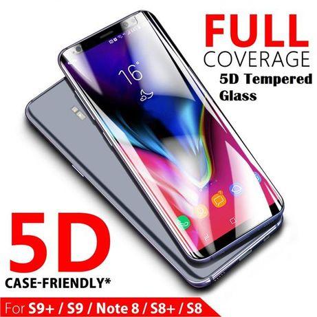 5D СТЕКЛО MOCOLO Full Glue для Samsung Galaxy S8 S9 Plus Note 8 9