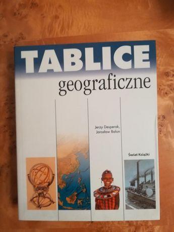 Tablice geograficzne świat książki nowe