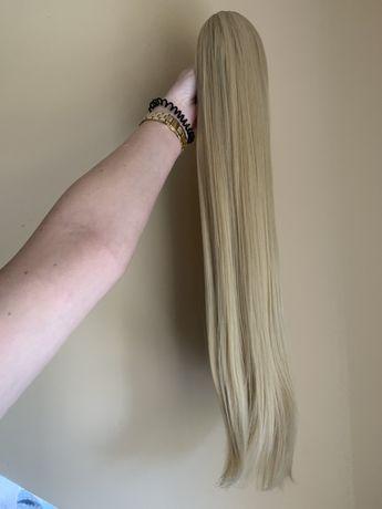 Kucyk na klipsie blond