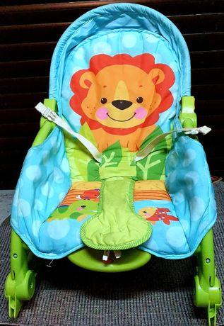 Fischer Price fotelik siedzisko bujaczek kołyska leżaczek