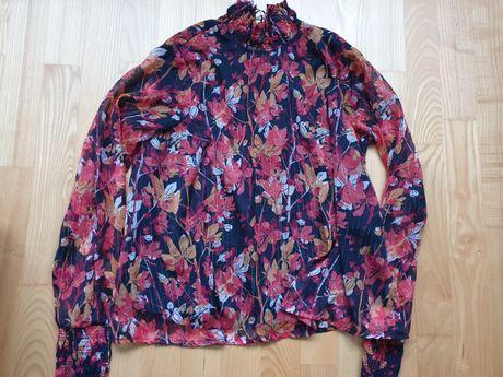 Elegancka bluzka ze stójką