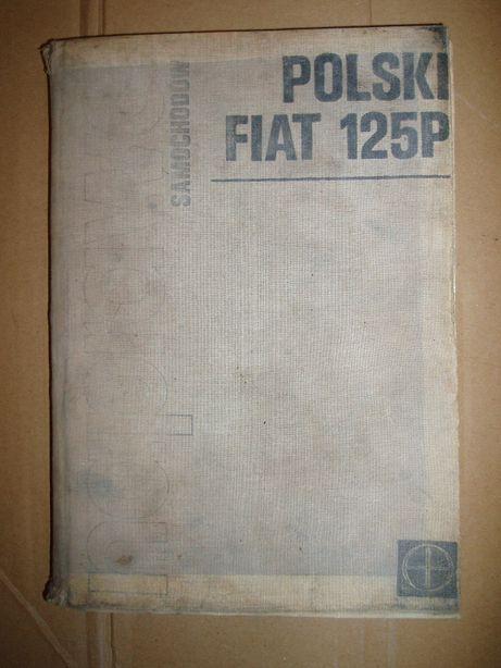 FSO 125 P Naprawa Samochodów- 1978 - Unikat- wydanie na płótnie